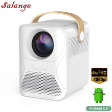 Salange P56 1080P Android projecteur Full HD TV vidéoprojecteur film 8000mAH Home cinéma Compatible feu TV, ordinateurs portables, PC, PS4