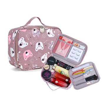 New Cosmetic Bag Waterproof Wash Travel Multi-Function Portable Makeup Case Organizer