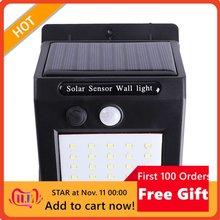 LED Solar Light Human Body Induction Wall Light Motion Sensor Street Lamp Induction Light