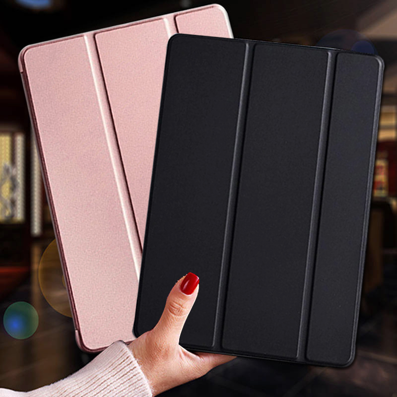 Smart Case For IPad 9.7 2018 2017 Fundas Magnetic Pu Leather Stand Smart Cover For IPad 5 6 Air 1 2 5th 6th Generation Shell