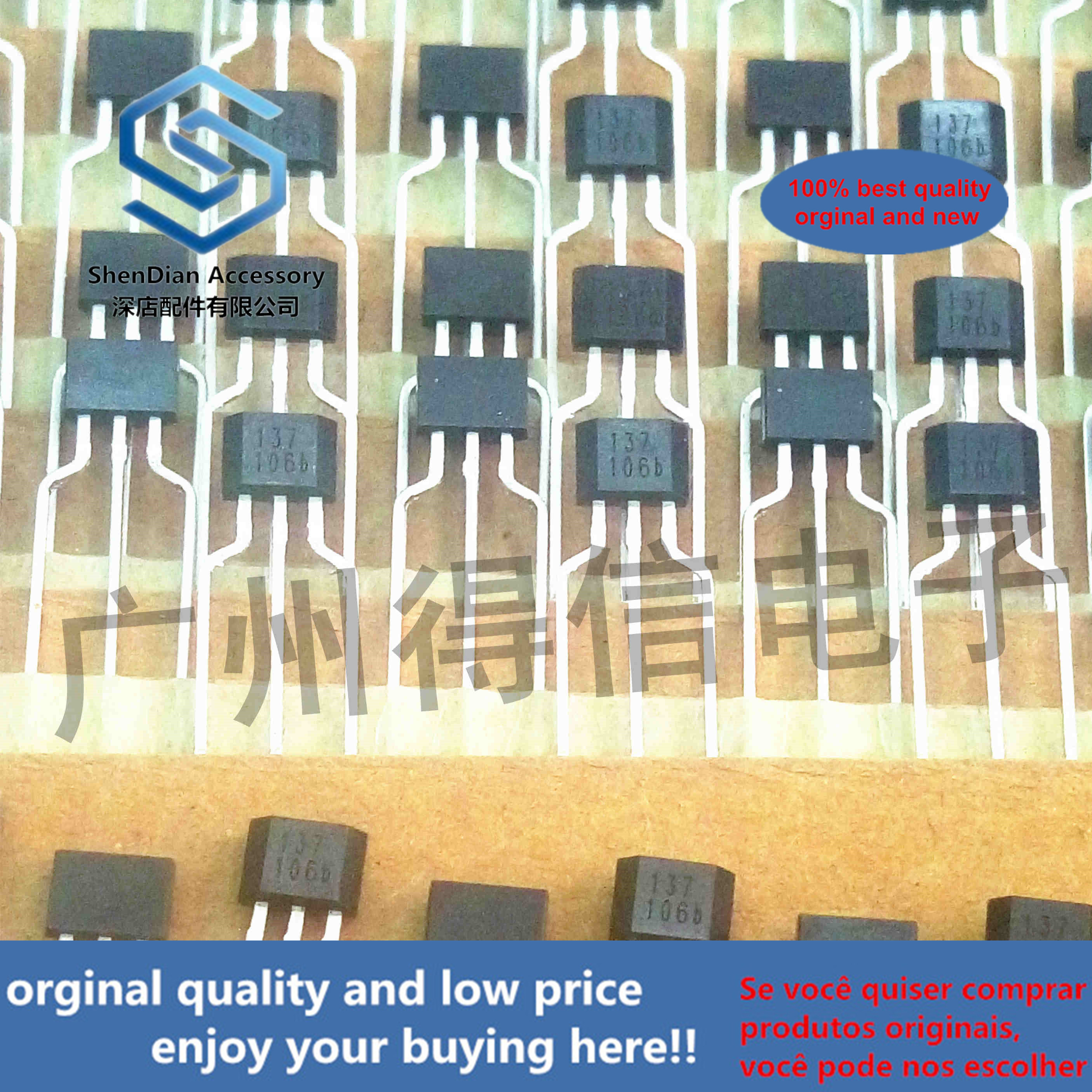 10pcs 100% New And Orginal ATS137 137 SINGLE HALL EFFECT SWITCH  In Stock