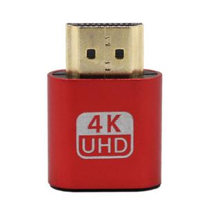 Exquisitely Designed Durable VGA Virtual Display Adapter HDMI 1.4 DDC EDID Dummy Plug Display Emulator Play 2020 New