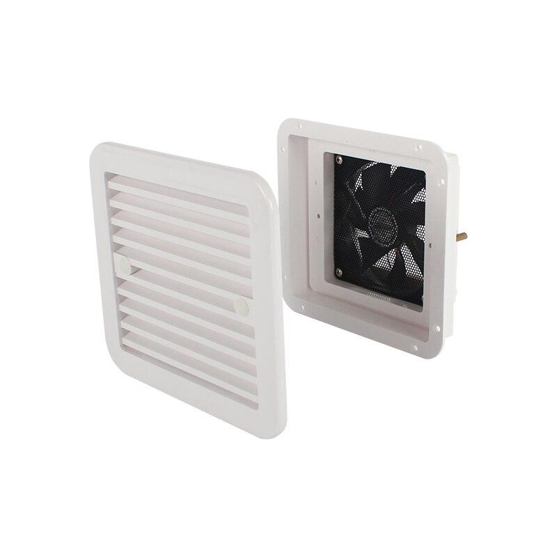 12 v 4 w geladeira vent com ventilador para reboque rv caravana lado de ar forte vento exaustão automóvel acessórios estilo do carro campista