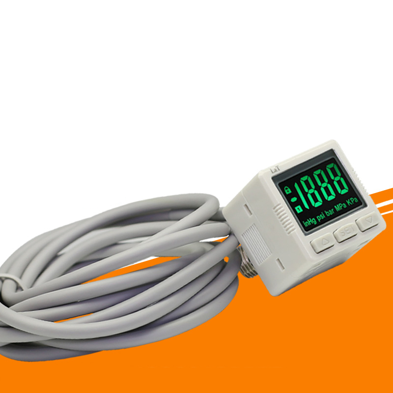 1pcs Multi-size ZSE / ISE30A ZSE30AF Digital Electronic Pressure Switch With Line Digital Pressure Gauge