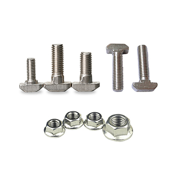 M5 M6 M8 T type Nuts Fastener Aluminum Connector screw Flange hex nut For Aluminum Profile 2020 3030 4040 peng fa 35 steel t nut sleeve steel t type sliding nut milling working table fixing t bolts t slot nuts set t slots nut for t tr