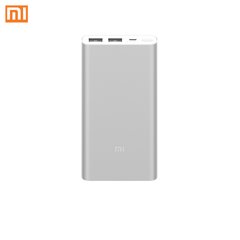 Xiaomi Brand Power Bank Ultrathin Mini Power Bank Metal shell MI Powerbank 2USB Phone Accessories Buy 2 Get 10% OFF DropShipping image