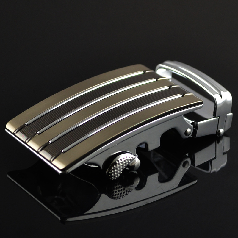 Fashion Men's Business Alloy Automatic Buckle Unique Men Plaque Belt Buckles For 3.5cm Ratchet Men Apparel Accessories LY1747