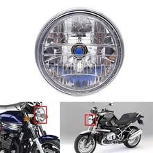 1 Pcs Motorcycle 12V Headlight Motorbike Halogen Headlamp Running Light Fit For Honda CB400 CB500 Hornet 600 900 VTEC VTR250