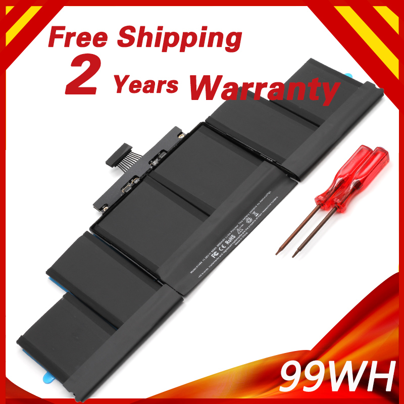 A1494 Laptop Battery 11.26V 8800mah 99Wh For Apple MacBook Pro 15