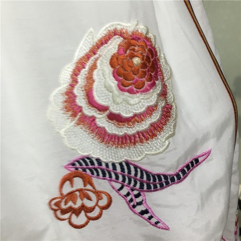 Женское летнее хлопковое платье высокого качества с коротким рукавом-бабочкой, женское платье, модное платье с вышивкой
