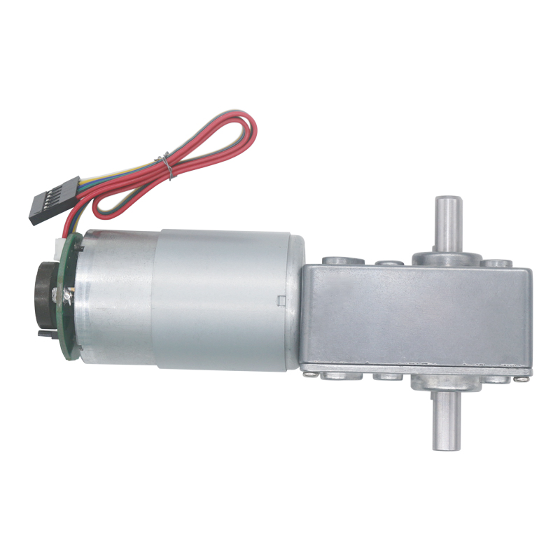 DC24V A5882-4260 Turbo Worm Gearbox Speed Reduction Gear Motor Brushless Motor