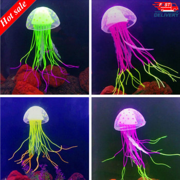 Imitation Floating Jellyfish Aquarium Deco  1