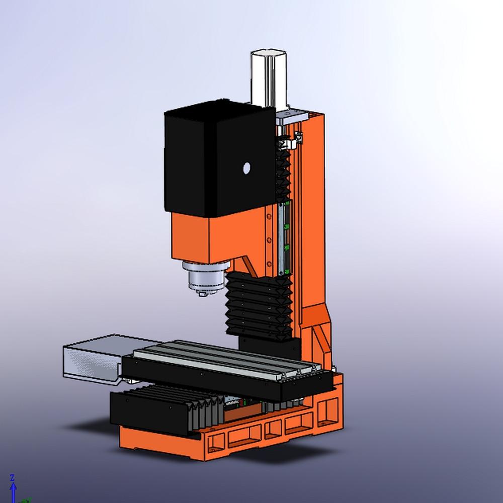 Mini CNC fraiseuse en fonte cadre machine métal CNC graveur bois routeur CNC kit bricolage mach3