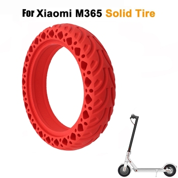 8.5 inch Electric Scooter Honeycomb Shock Absorber Damping Tyre Durable Rubber Solid Tire For Xiaomi Mijia M365