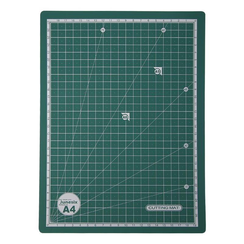 A4 Cutting Mat Pad Self Healing Cutting Mats Craft Card Fabric Leather Paper Board Double-sided Handmade Patchwork Tool 30*22cm