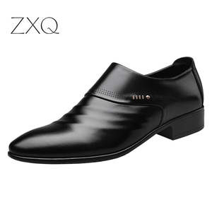 Shoes Oxfords Brown Office Wedding Black Male Men's New Business Set-Of-Feet Pointed