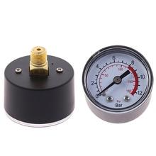 Pressure-Gauge Air-Compressor Hydraulic-Fluid 42--40mm 0--180-Psi Pneumatic New