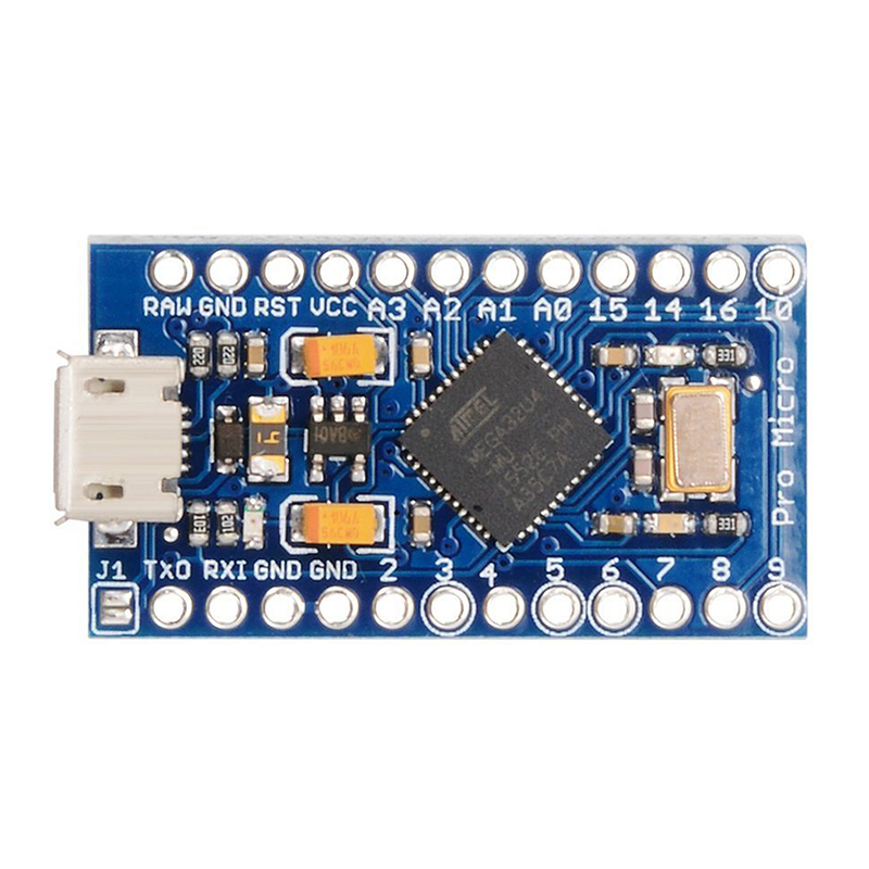 Pro Mini ATMEGA32U4 5V / 16MHz Board Module With 2 Row Pin Header For Arduino Leonardo Pro Mini TE 463