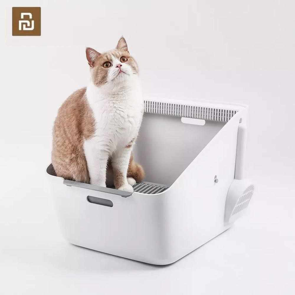 Youpin Petkit Huisdier Inductieve Deodorant Katten Kattenbak Kattenbak Training Kit Pet Geur Cleaning Training Nesten Bedpans Cleane