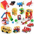 Конструктор «сделай сам» большого размера, Детский конструктор, лестница, набор труб, аксессуары, совместимы с игрушками-кирпичами, подарок...