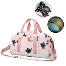 Travel-Bag Gym-Bags Fitness Swim Sport Nylon Training-Shoulder Yoga Women Wet Sac-De-Tas