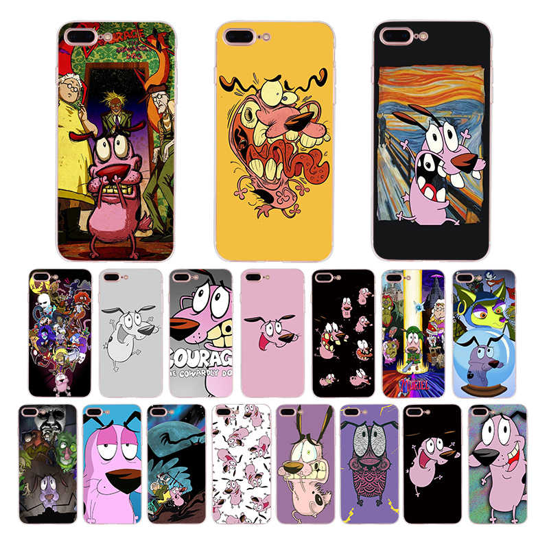 HOUSTMUST del perro suave funda para iPhone x xr xs max 7 8 s 6 6 plus 5S iPhone 5 cubierta de dibujos animados divertido lindo shell