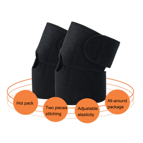 2pcs Self-heating Tourmaline Far Infrared Magnetic Therapy Ankle Care Belt Support Heel Brace Massager Foot Health Care Karachi