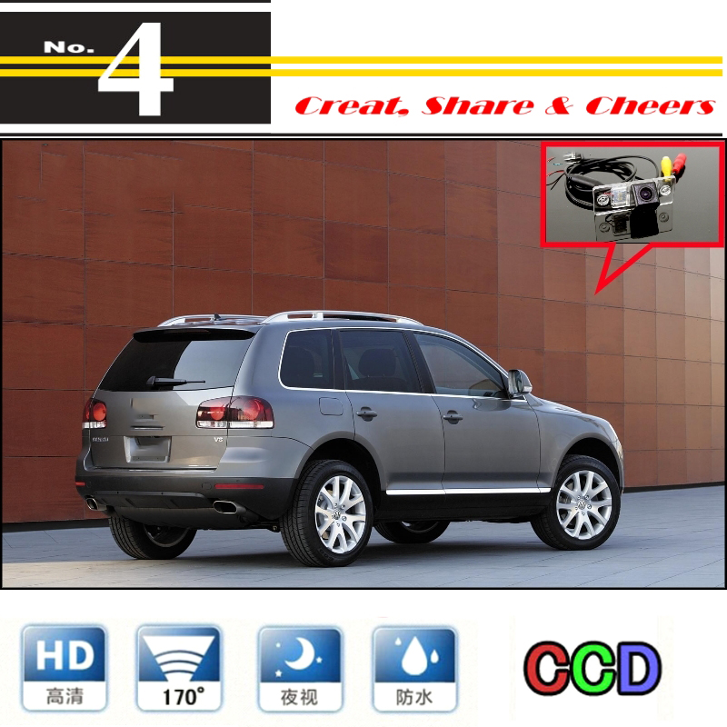 For Volkswagen VW Touareg High Quality Rear View Back Up WtaerProof Camera Car Camera For PAL / NTSC | CCD + RCA Connector|camera for psp 3000|camera lomo|camera inspection - title=