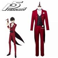 Persona 5 Cosplay Joker Akira Kurusu Cosplay Costume Ren Amamiya Masquerade Costume Halloween Party Costumes Tailor Made