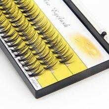 20d 30d profissional maquiagem individual cluster cílios enxertia falso cílios postiços cílios extensão individual chicote bunche