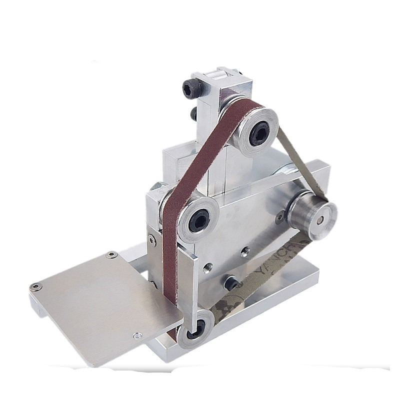 Mini Small Mini Belt Machine DIY Polishing Machine Grinding Machine Fixed Angle Sharpening Machine Blade Desktop