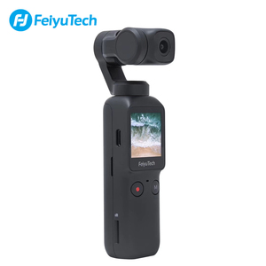 Image 3 - Feiyutech Feiyu Pocket Stabilized Camera With 6 Axis Hybrid Stabilization 4K 60fps 270 Mins Handheld Gimbal Camera Stabilizer