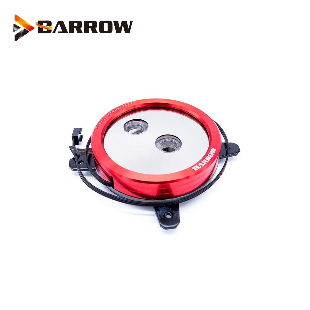 Купить с кэшбэком Barrow CPU Water Block use for INTEL LGA 1150 1151 1155 1156 Acrylic + Copper Radiator RGB 5V GND to 3PIN Hearder in Motherboard