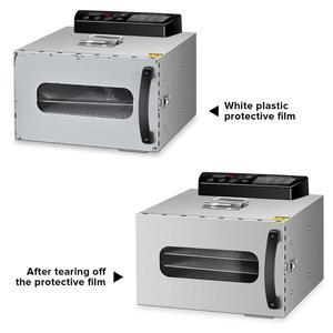 Image 5 - KWASYO 6 トレー食品脱水機フルーツ乾燥機乾燥機野菜ドライフルーツ肉乾燥機ステンレス Ste