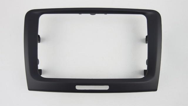 راديو السيارة Facia ل 2008 2015 سكودا رائع DVD ستيريو CD لوحة داش عدة تثبيت حواف فآسيا الوجه لوحة الإطار وحدة التحكم الحافة غطاء