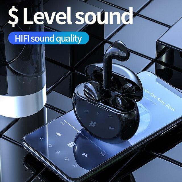 McGeSin A3 TWS אוזניות אלחוטי Bluetooth אוזניות מגע בקרת מוסיקה אוזניות מיני אפרכסת עם מיקרופון עבור Huawei Xiaomi Iphone