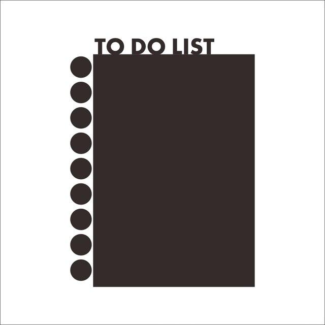To Do List Blackboard Sticker 6