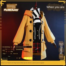 YOYOCOS Anime Arena Of Valor Sun Shangxiang Game Cosplay Costume daily Women Halloween Carnival Party Uniform Free shipping(China)