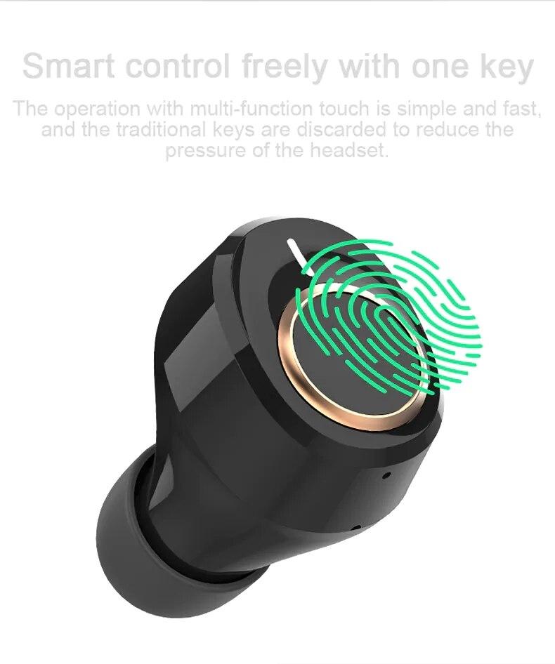 Lenovo X18 TWS Earphone Wireless Bluetooth 5.0 Super Light Earplug Long battery Touch Keys Headset Sweatproof Sports Earbuds (10)