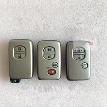 Car Keyless-Go Smart Remote Key for Toyota Prado Land Cruiser Camry 4Runner Tundra Avalon RAV4 Kluger Crown Board No: 3370
