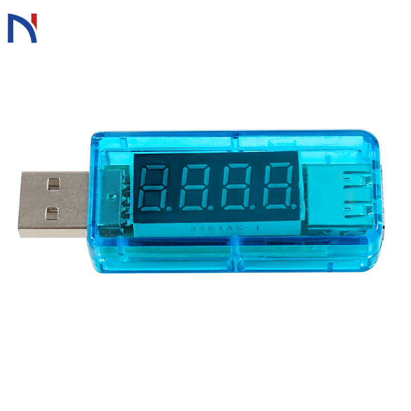 Voltímetro inteligente eletrônica digital de carregamento de energia móvel atual usb tensão tester medidor carregador usb doutor voltímetro amperímetro