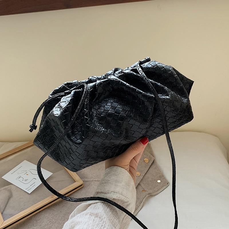 Bolsas de Alta Qualidade do Plutônio Design da Marca Bolsa de Bolinho Bolsa Feminina Tecido Nova Moda Senhoras Cruz Corpo Bolsas Ombro Grande Tamanho 2020