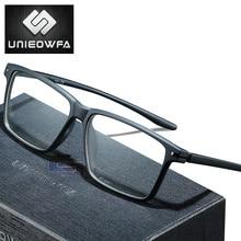 نظارات طبية تقدمية للرجال نظارات مضادة للضوء الأزرق نظارات قصر النظر البصرية الذكور واضحة كوريا TR90 الإطار