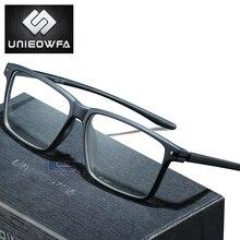 Progressieve Bril Mannen Meekleurende Anti Blauw Licht Brillen Mannelijke Optische Bijziendheid Eyewear Clear Korea TR90 Frame