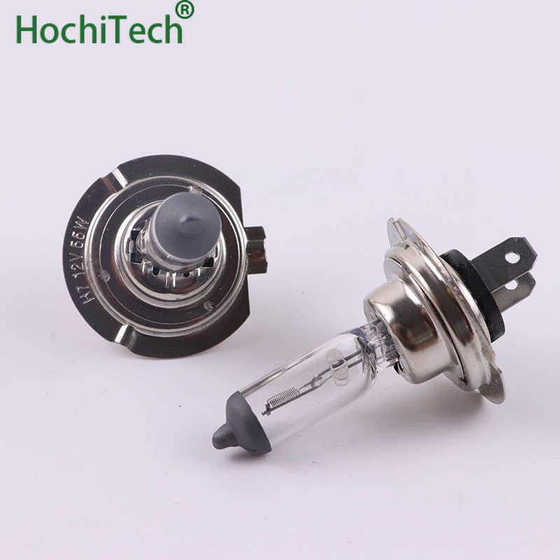 Top Quality H7 12 Luz Lâmpada Halógena 4500K V 100W 55W 3000Lm Xenon Quente Vidro de Quartzo Branco farol do carro Lâmpada de Substituição