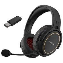 Xiberia g01 fone de ouvido sem fio de 2.4ghz fone de ouvido para jogos fone de ouvido estéreo música super bass AUX IN 3.5mm com fio para telefone pc tv