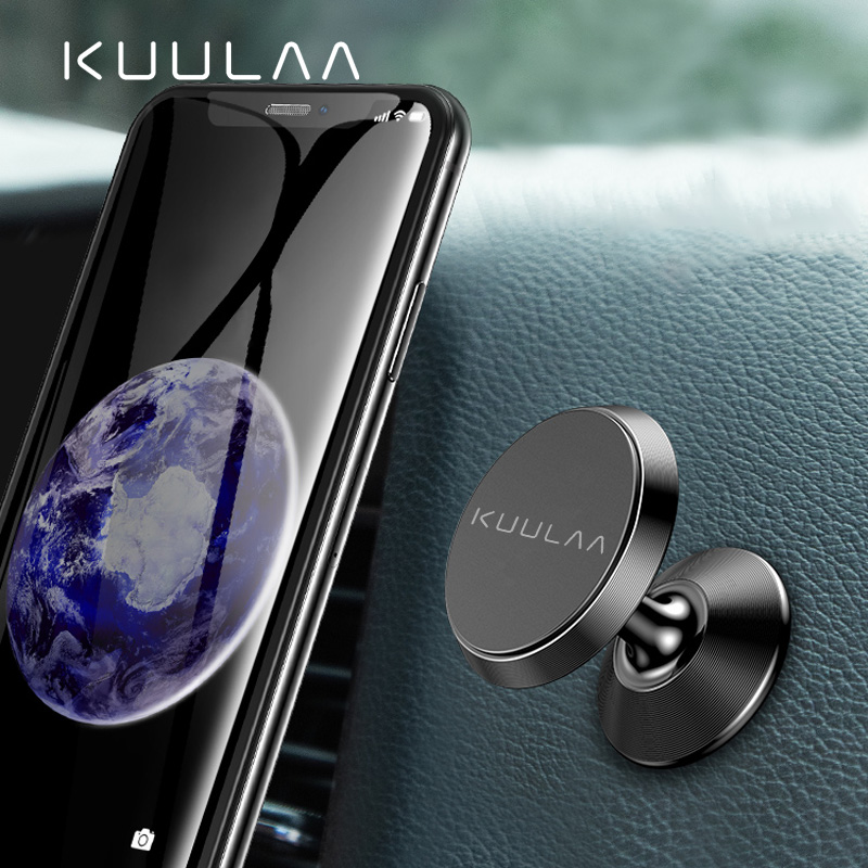 KUULAA Car Phone Holder Magnetic Air Vent Magnet Mobile Phone Car Holder For Cell Phone Car Mount Holder Universal