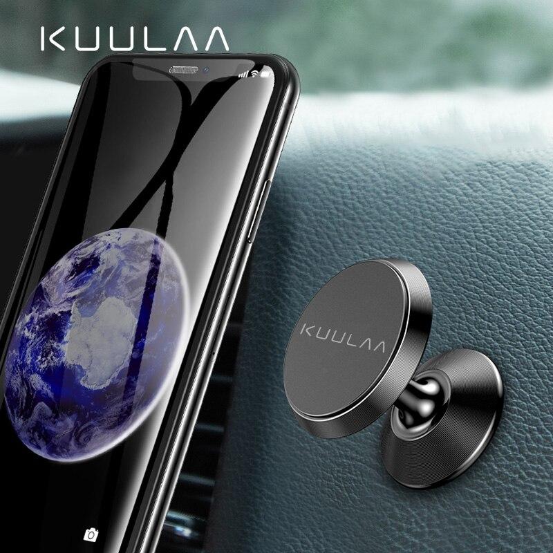 KUULAA Car Phone Holder Magnetic Air Vent Magnet Mobile Phone Car Holder For Cell Phone Car Mount Holder Universal