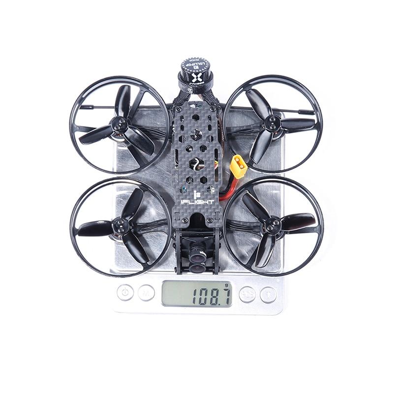 IFlight Cinebee 4K 107 мм sucex F4 OSD 2S bwoop FPV гоночный Дрон с Caddx. us Tarsier двойной объектив камера для RC FPV Racer Drone
