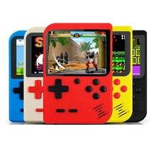 Novo built-in 400 jogos 1000mah bateria retro vídeo handheld game console 3.0 Polegada lcd video game player para d13